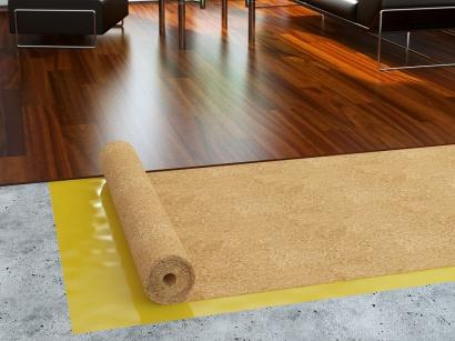Korková rola podložka MS 15 pod podlahy 2 mm