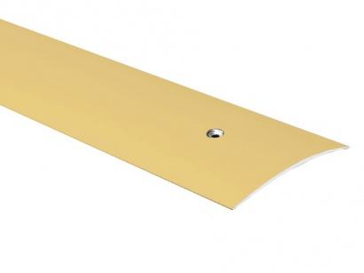 Prechodová lišta skrutková oblá Zlatá E00