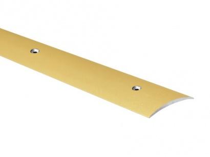 Prechodová lišta skrutková oblá Profiteam Zlatá 60 x 2700