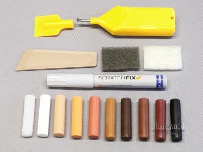Set pre opravu dreva laminátu elastických podláh Dr. Schutz