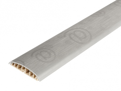 Prechodová lišta na kabeláž Aspro Metalic