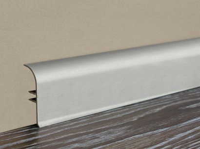 Hliniková podlahová lišta Küberit 930 Imitácia nerezu F2G