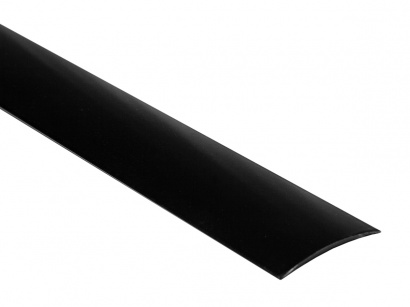 Prechodová lišta samolepiaca oblá Küberit SK Čierna F16