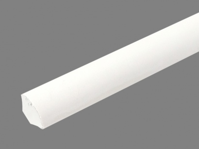 Profil univerzálny Arbiton LC biely - hladký