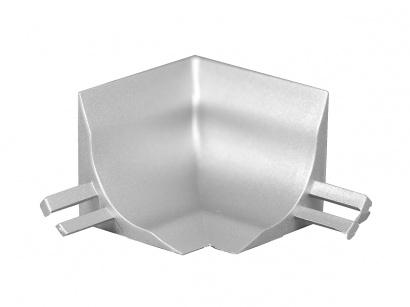 Vnútorný roh GBL/40/I polypropylén Strieborný