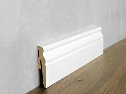 Podlahová soklová lišta Biela Paint it Viktoriánska 15 x 60 MP0601