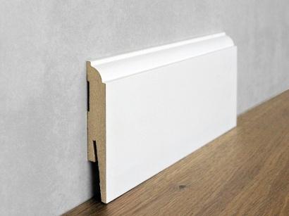 Podlahová soklová lišta Biela Paint it Torus II 15 x 90 MP0901