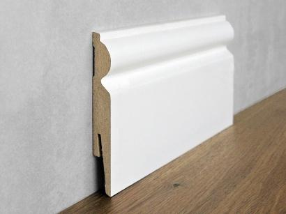 Podlahová soklová lišta Biela Paint it Torus 15 x 110 MP1101