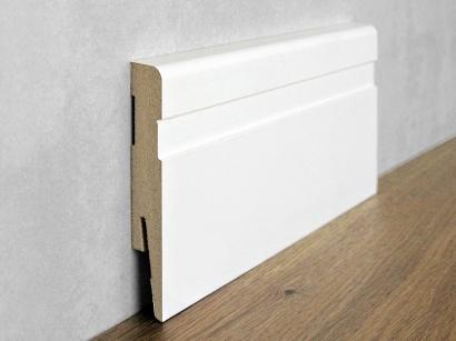 Podlahová soklová lišta Biela Paint it Modern 15 x 100 MP1002