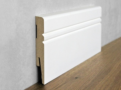 Podlahová soklová lišta Biela Paint it Jazz 15 x 100 MP1005