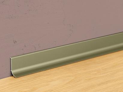 Hliníková podlahová lišta samolepiaca Šampaň Q63