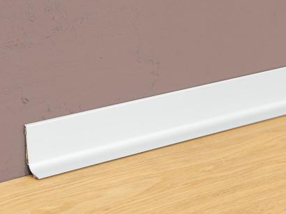 Hliníková podlahová lišta samolepiaca Strieborná Q64