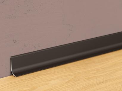 Hliníková podlahová lišta samolepiaca Bronz Q64