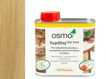 Olej na kuchynské pracovné dosky Osmo 3058 Top Olej Bezfarebný mat