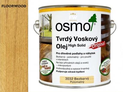 Osmo 3032 Original tvrdý voskový olej hodvábny polomat