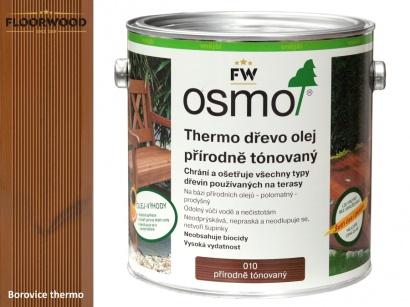Osmo 010 Thermo olej na drevene terasy