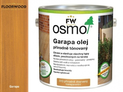 Osmo 013 Garapa olej na drevene terasy