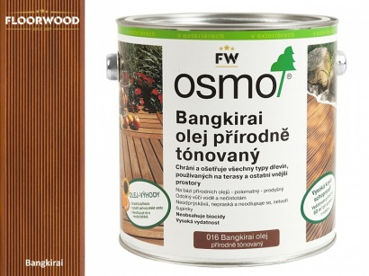 Osmo 016 Bangkirai tmavý olej na drevene terasy