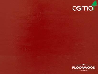 OSMO 2311 Vidiecka farba na drevo Karmínovo červená