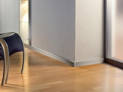 Hliníková podlahová lišta Küberit 935 Imitácia nerezu F2G