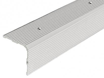 Schodová lišta skrutková 30 x 30 x 1800 Strieborná PS3