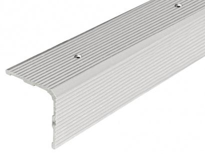 Schodová lišta skrutková 30 x 30 Strieborná PS3