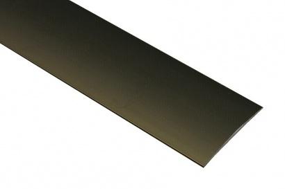 Prechodová lišta nevŕtaná oblá Bronz C4