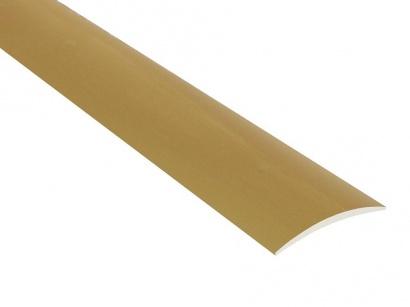 Prechodová lišta nevŕtaná oblá Zlatá C3