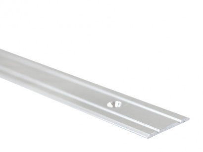 Prechodová lišta skrutková plochá Arbiton PR1 Strieborná 28 x 1800