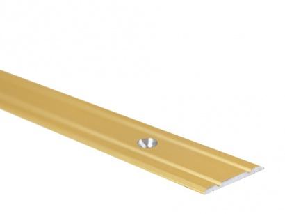 Prechodová lišta skrutková plochá PR1 Zlatá