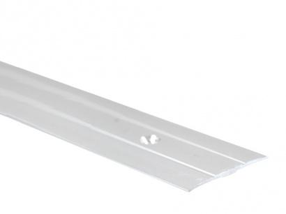 Prechodová lišta skrutková plochá PR6 Strieborná