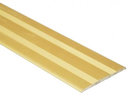 Prechodová lišta samolepiaca plochá Profiteam Zlatá E00