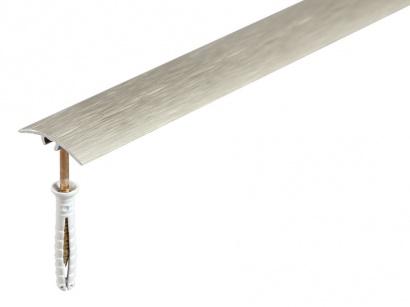 Prechodová lišta narážacia Arbiton SM1 Titan škrabaný 30 x 1800
