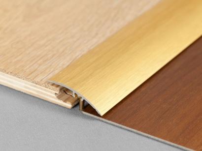 Prechodová lišta narážacia SM2 Zlatá škrabaná