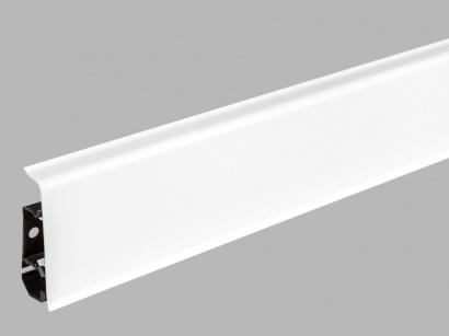 Podlahová lišta pre vedenie káblov LM70 Arbiton INDO 01 Biela lesklá