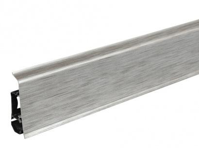 Podlahová lišta pre vedenie káblov LM70 Arbiton INDO 17 Aluminium