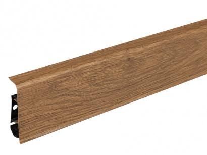 Podlahová lišta pre vedenie káblov LM70 Arbiton INDO 12 Dub tmavý